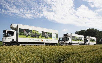 De nieuwe vrachtwagen zal hoofden doen draaien