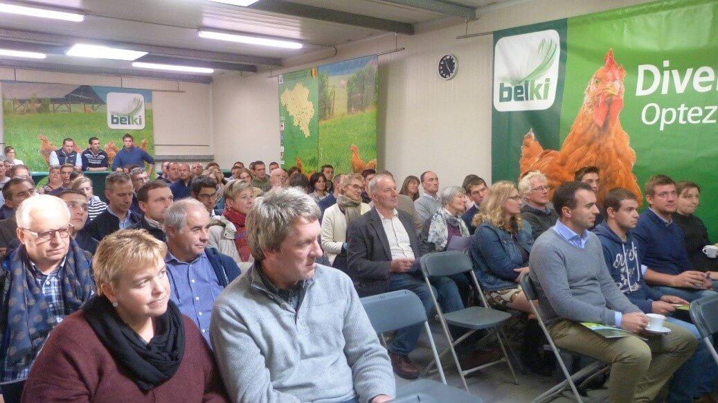 Journée découverte de la filière BIO de l'abattoir Belki à Alost