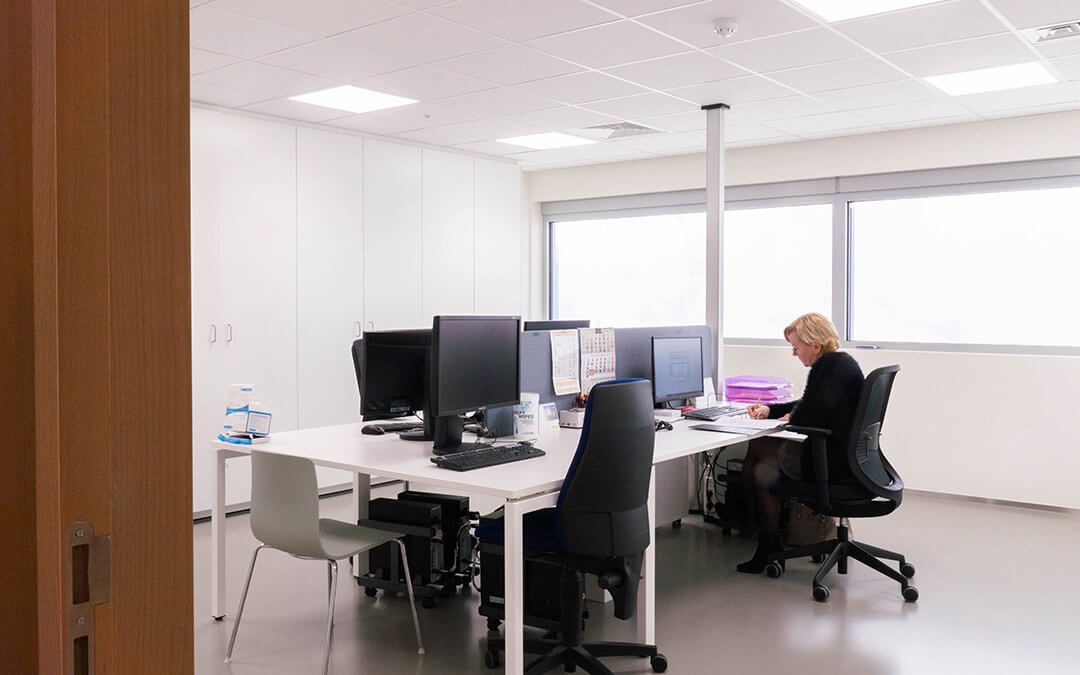 Renovation of the old refectory into new offices
